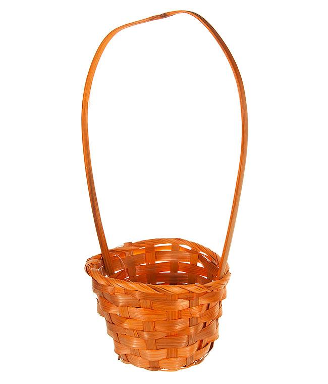 Картинка оранжевая корзина