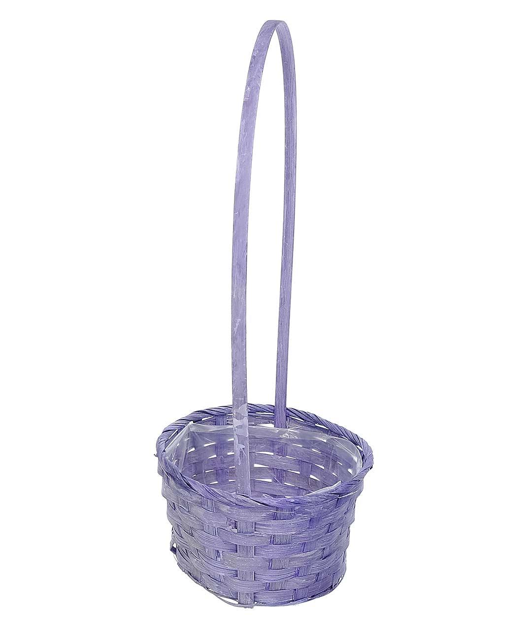 Корзинка декоративная W9020 фиолет