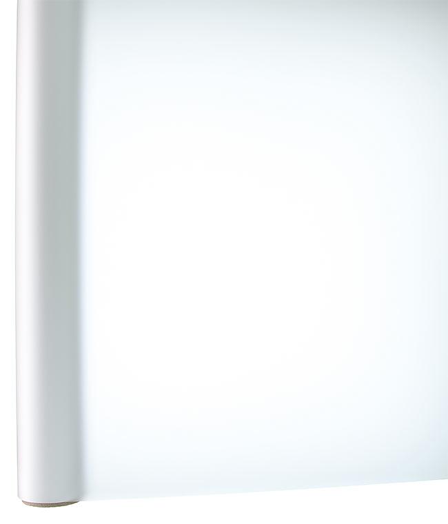 Корейская матовая пленка для цветов Белый
